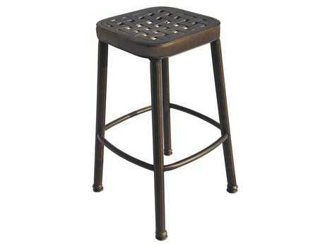 darlee outdoor living standard backless cast aluminum antique bronze