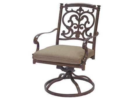 Darlee Outdoor Living Standard Santa Barbara Cast Aluminum Swivel Rocker Chair PatioLiving
