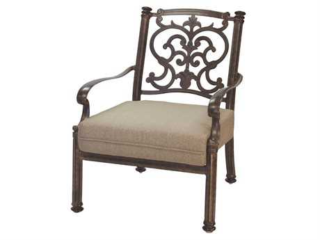 Darlee Outdoor Living Standard Santa Barbara Replacement Club Chair Seat and Back Cushion PatioLiving
