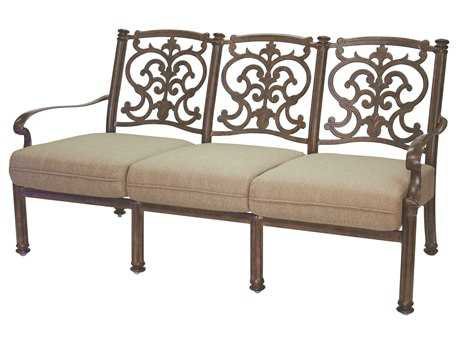 Darlee Outdoor Living Standard Santa Barbara Cast Aluminum Sofa