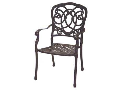 Darlee Outdoor Florence Cast Aluminum Dining Chair PatioLiving