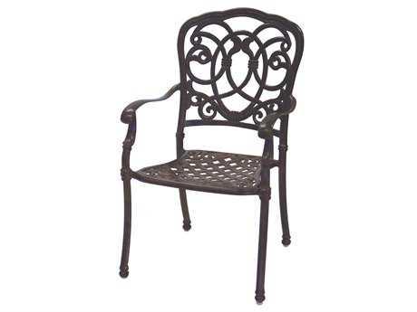 Terrific Darlee Outdoor Florence Cast Aluminum Dining Chair Home Interior And Landscaping Mentranervesignezvosmurscom