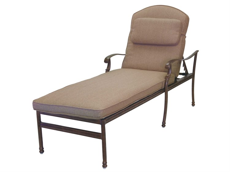 Darlee Outdoor Living Standard Florence Cast Aluminum Chaise Lounge
