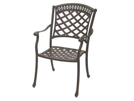 Darlee Outdoor Living Standard Sedona Cast Aluminum Dining Chair