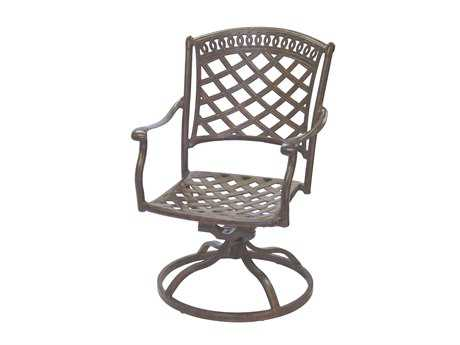 Darlee Outdoor Living Sedona Cast Aluminum Swivel Rocker Chair