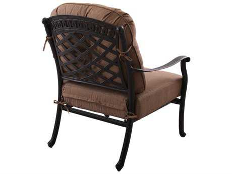 Darlee Outdoor Living Standard Sedona Cast Aluminum Club Chair