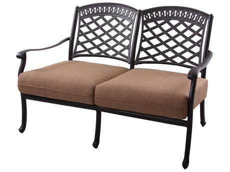 Darlee Outdoor Living Standard Sedona Cast Aluminum Loveseat PatioLiving