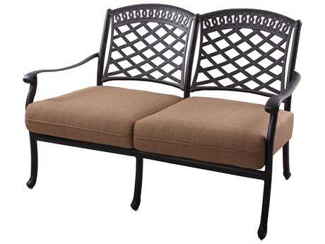 Darlee Outdoor Living Sedona Cast Aluminum Loveseat PatioLiving