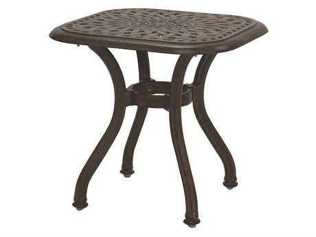 Darlee Outdoor Living Quick Ship Series 60 Cast Aluminum 21 Square End Table