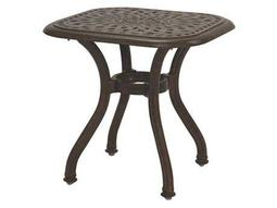 Quick Ship Series 60 Cast Aluminum 21 Square End Table