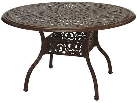 Darlee Outdoor Living Series 60 Cast Aluminum 48 Round Dining Table Da201060c