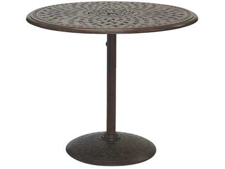 Darlee Outdoor Living Series 60 Cast Aluminum 42 Round Counter Height Table