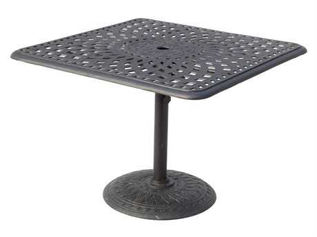Darlee Outdoor Living Series 60 Cast Aluminum 36 Square Counter Height Table