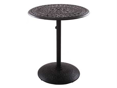 Darlee Outdoor Living Series 60 Cast Aluminum 30 Round Counter Height Table