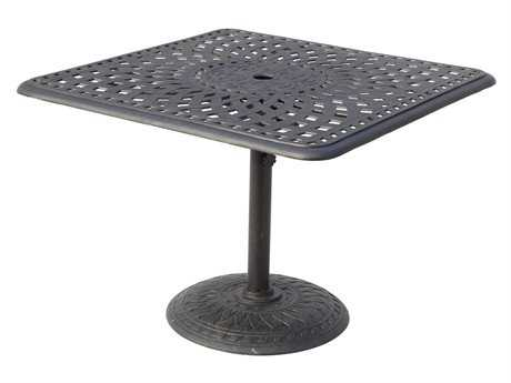 Darlee Outdoor Living Series 60 Cast Aluminum 36 Square Dining Table