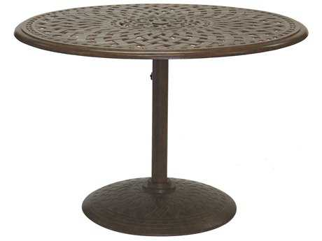 Darlee Outdoor Living Series 60 Cast Aluminum 42 Round Tea Table