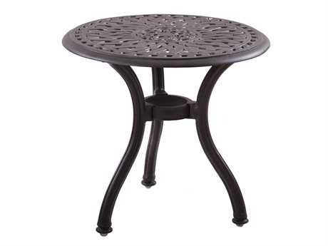 Darlee Outdoor Living Quick Ship Series 60 Cast Aluminum 22 Round End Table