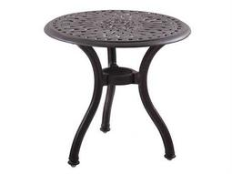 Quick Ship Series 60 Cast Aluminum 22 Round End Table