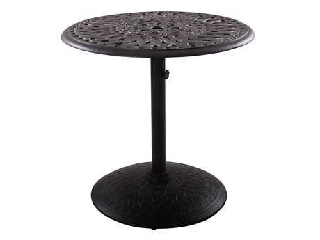Darlee Outdoor Living Series 60 Cast Aluminum 30 Round Dining Table