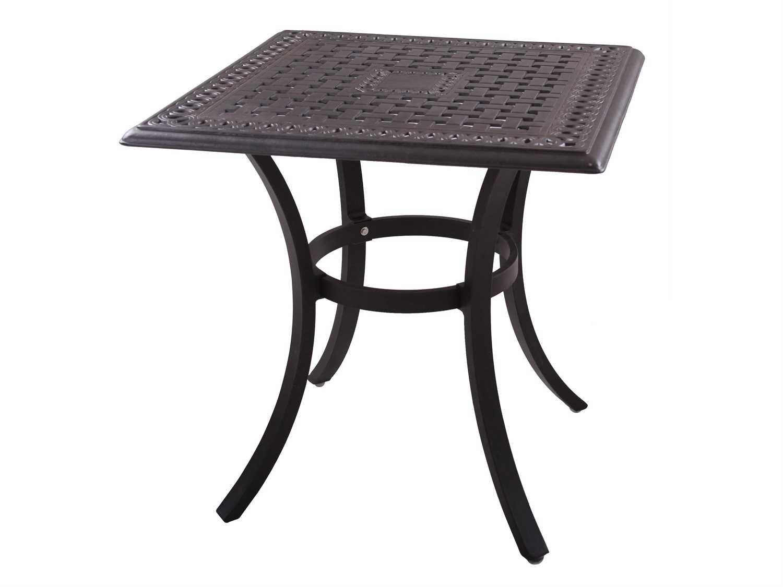 Patio Tables Dining: Darlee Outdoor Living Series 88 Cast Aluminum Antique