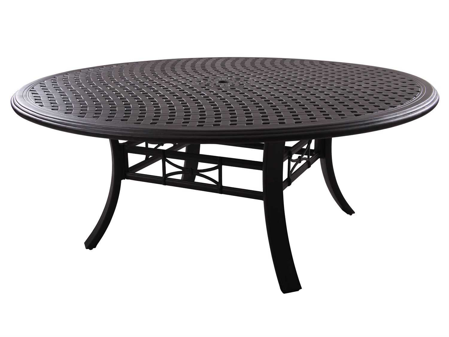 Darlee outdoor living series 99 cast aluminum antique for Round table 99 rosenheim