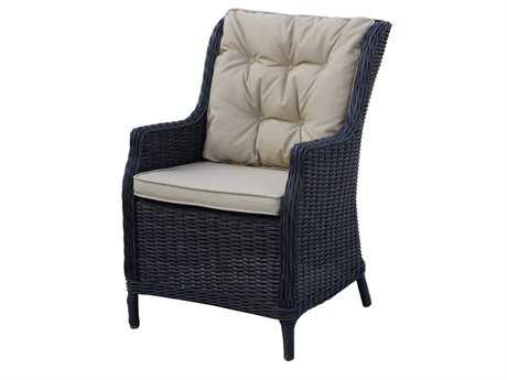 Darlee Outdoor Living Standard Valencia Dining Chair / Seat & Back Cushion