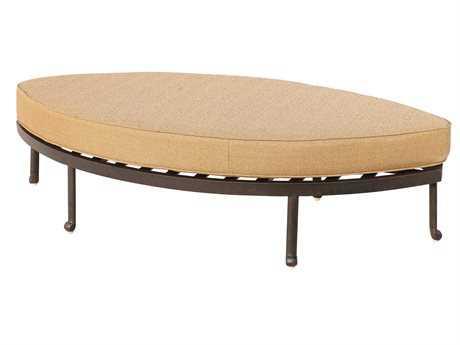 Darlee Outdoor Living Standard Santa Anita Replacement Ottoman Cushion PatioLiving