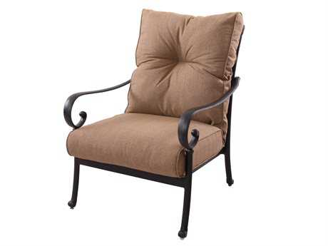 Darlee Outdoor Living Standard Santa Anita Replacement Club Chair Seat and Back Cushion PatioLiving