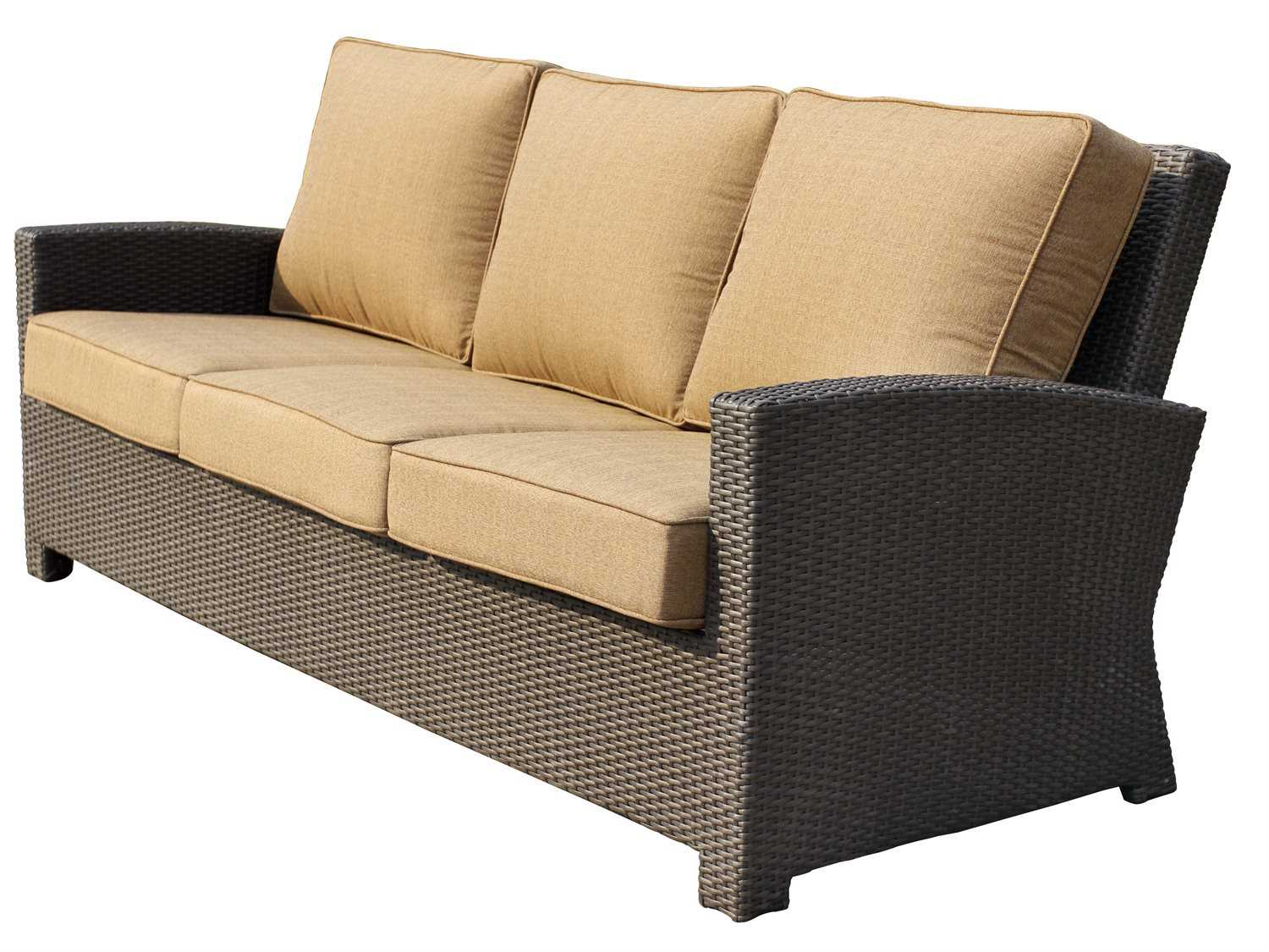 Darlee Outdoor Living Vienna Replacement Sofa Seat And