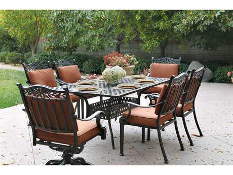 Darlee Outdoor Living Standard Charleston Cast Aluminum Dining Set