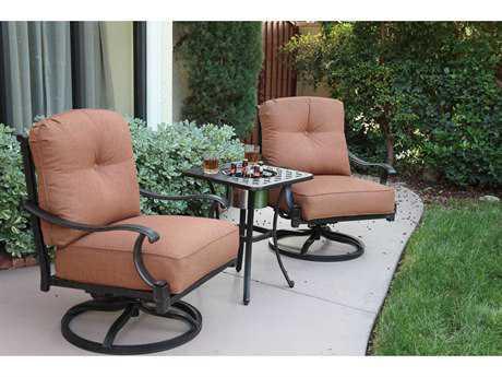 Darlee Outdoor Living Standard Charleston Cast Aluminum Lounge Set