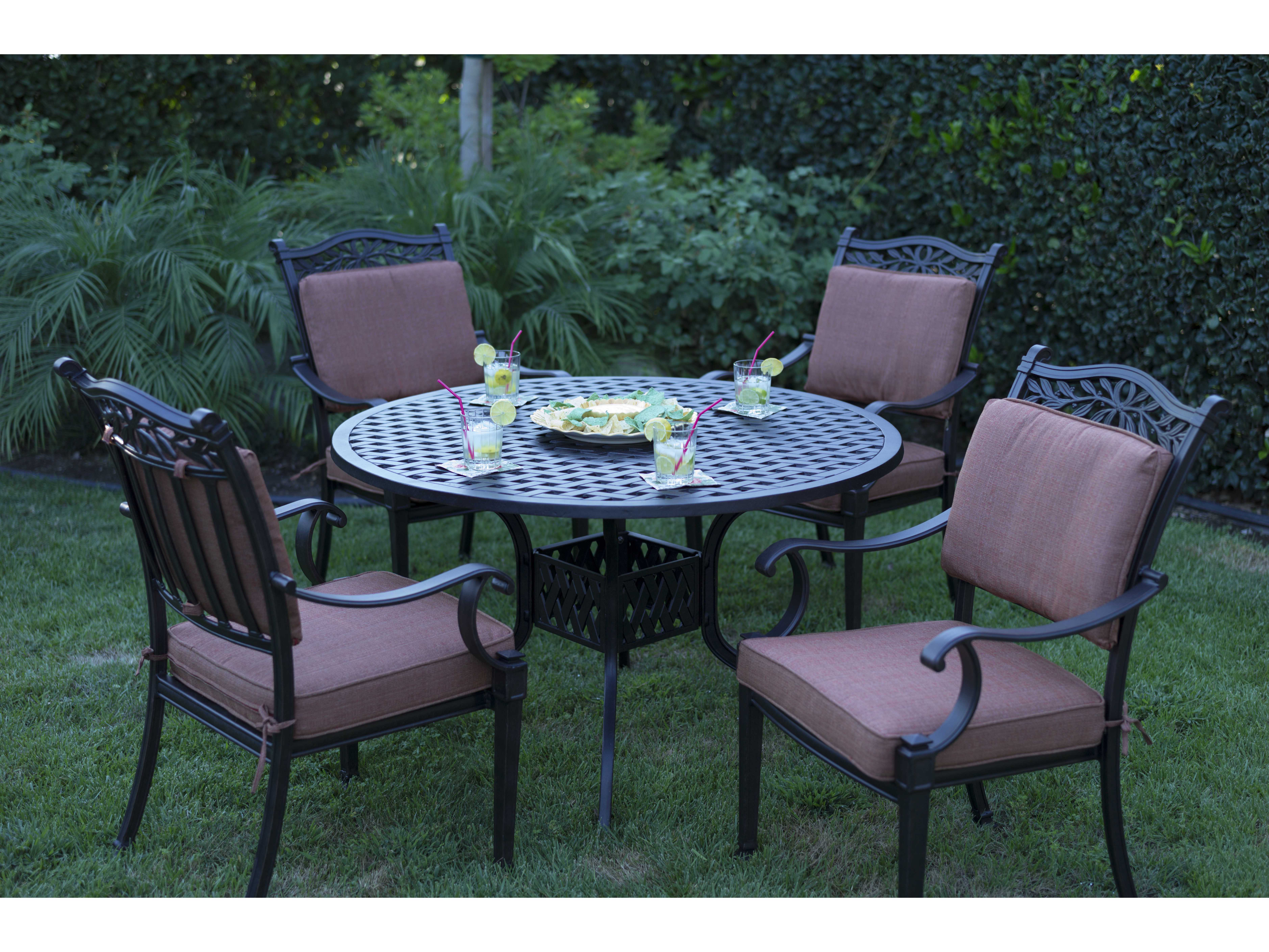 Darlee Outdoor Living Standard Charleston Cast Aluminum ... on Outdoor Living Set id=52527