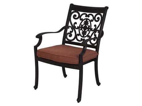 Darlee Outdoor Living Standard St. Cruz Replacement Dining Chair Seat Cushion