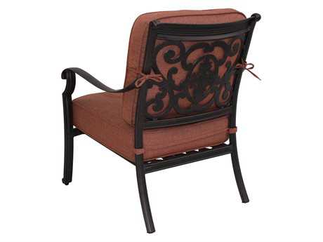 Darlee Outdoor Living Standard St. Cruz Replacement Club Chair Seat and Back Cushion PatioLiving