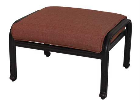 Darlee Outdoor Living Standard St. Cruz Replacement Ottoman Cushion PatioLiving