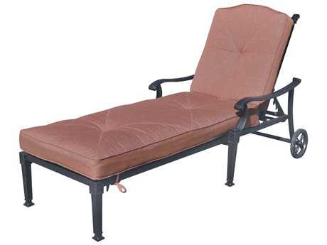 Darlee Outdoor Living Standard Charleston Replacement Chaise Lounge Seat and Back Cushion