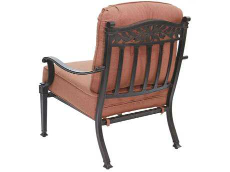 Darlee Outdoor Living Standard Charleston Cast Aluminum Antique Bronze Club Chair