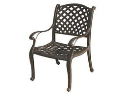 Quick Ship Nassau Cast Aluminum Antique Bronze Dining Chair