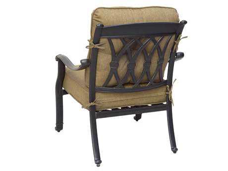 Darlee Outdoor Living San Macros Cast Aluminum Antique Bronze Club Chair