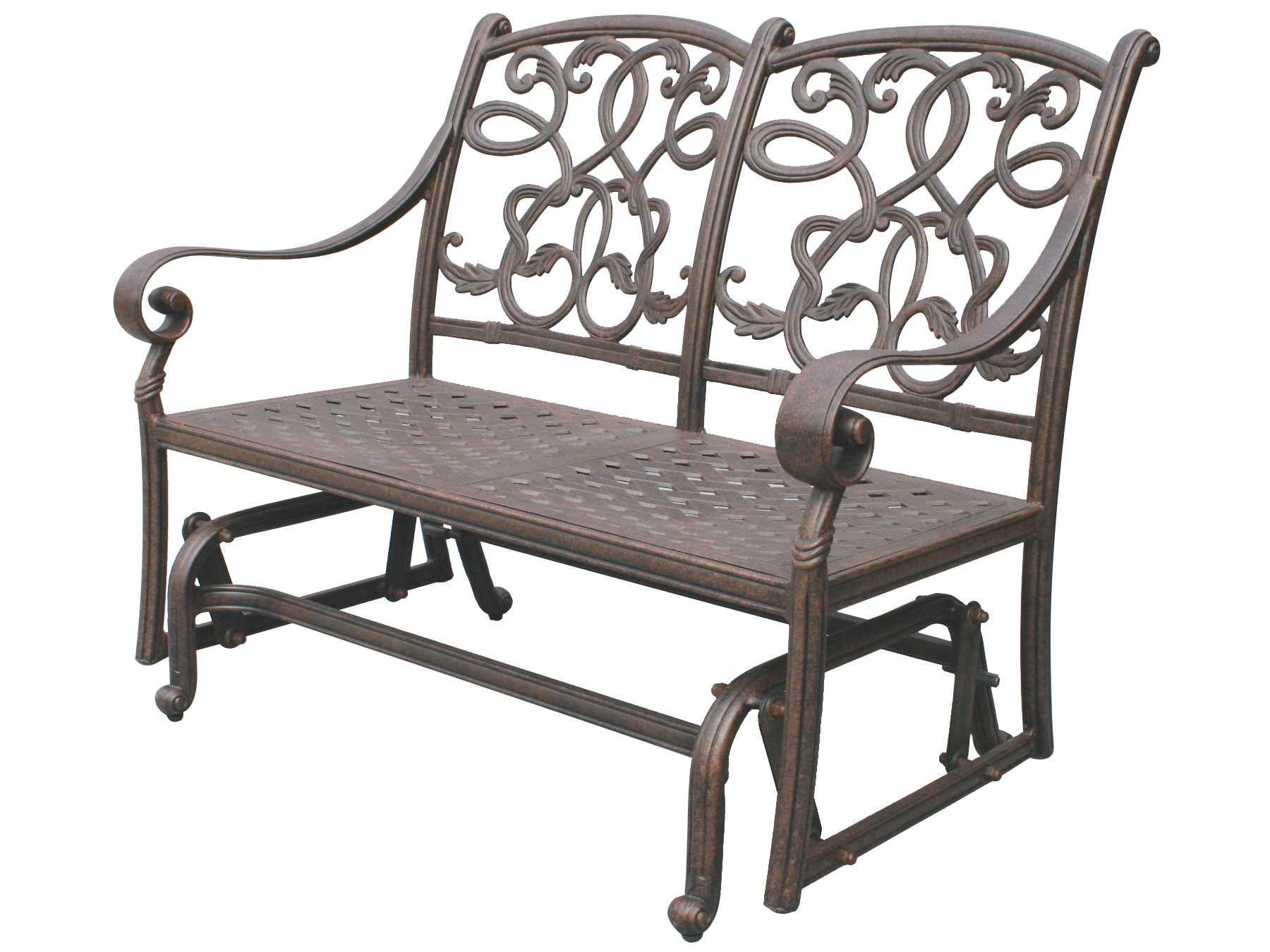 Pleasant Darlee Outdoor Living Standard Santa Monica Cast Aluminum Onthecornerstone Fun Painted Chair Ideas Images Onthecornerstoneorg