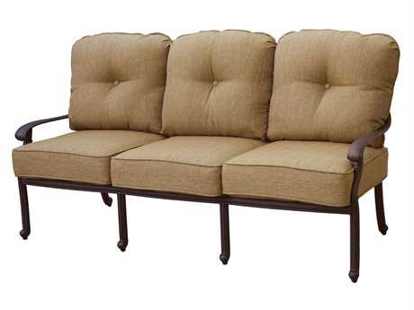 Darlee Outdoor Living Standard Santa Monica Replacement Sofa Seat and Back Cushion PatioLiving
