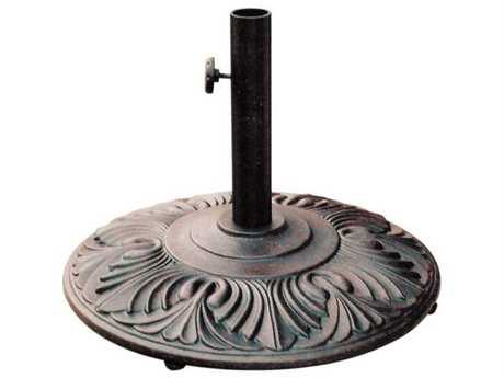 Darlee Outdoor Living Standard Antique Bronze Amazon Umbrella Base PatioLiving