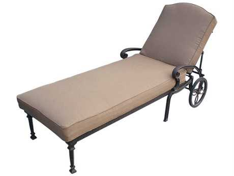 Darlee Outdoor Living Standard Ten Star Replacement Chaise Lounge Seat and Back Cushion