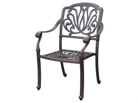 Darlee Outdoor Living Elisabeth Replacement Dining Chair Seat Cushion