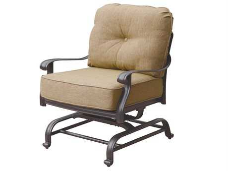 Darlee Outdoor Living Standard Elisabeth Replacement Spring Base Club Chair Seat and Back Cushion PatioLiving