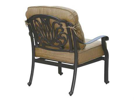 Darlee Outdoor Living Elisabeth Replacement Club Chair Seat and Back Cushion