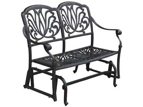 Darlee Outdoor Living Elisabeth Replacement Bench Glider Seat Cushion