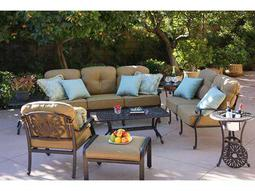 Quick Ship Elisabeth Cast Aluminum Lounge Set