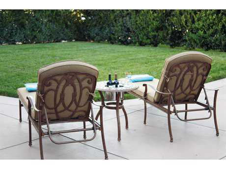Darlee Outdoor Living Florence Cast Aluminum Lounge Set