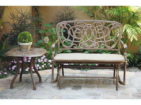 Darlee Outdoor Living Standard Florence Casual Cast Aluminum Lounge Set